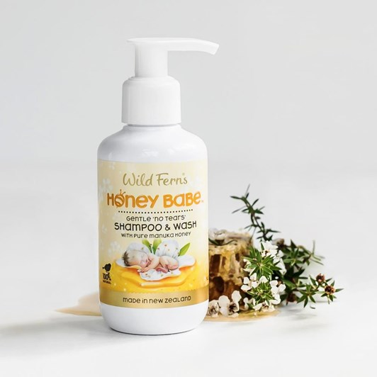 Honey Babe Shampoo & Wash 140ml