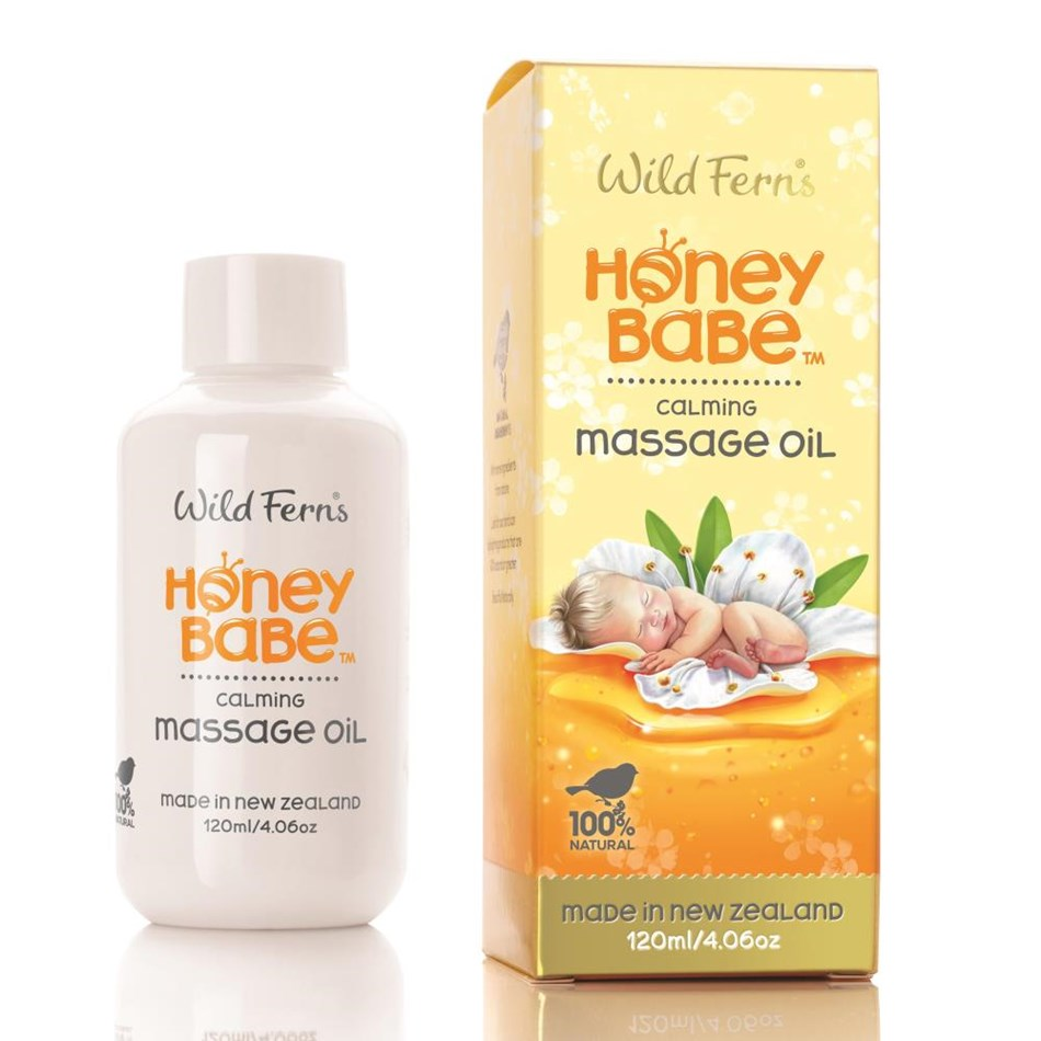 Honey Babe Massage Oil 120ml Na