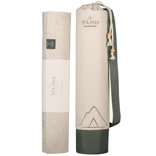 Yolana Natural Fibre Yoga Mat
