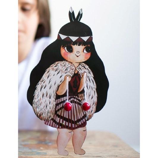Misery Guts Poi Waiwaia Paper Doll (Beautiful Poi)