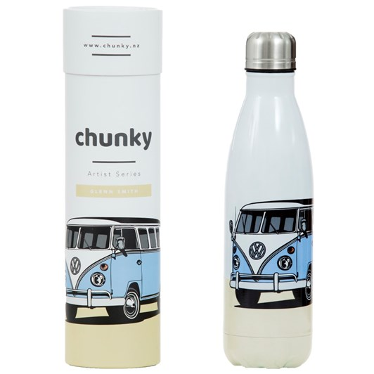 Chunky Kombi Glenn Smith NZ Art Series Bottle