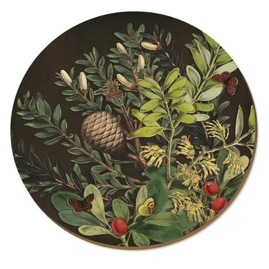 Tanya Wolfkamp Pine Cone & Berries Placemat