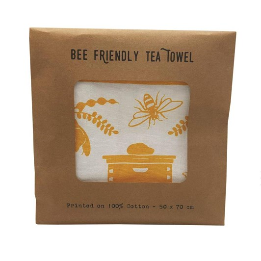 Tanya Wolfkamp Bee Friendly Tea Towel
