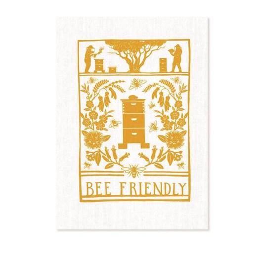 Tanya Wolfkamp Bee Friendly Tea Towel