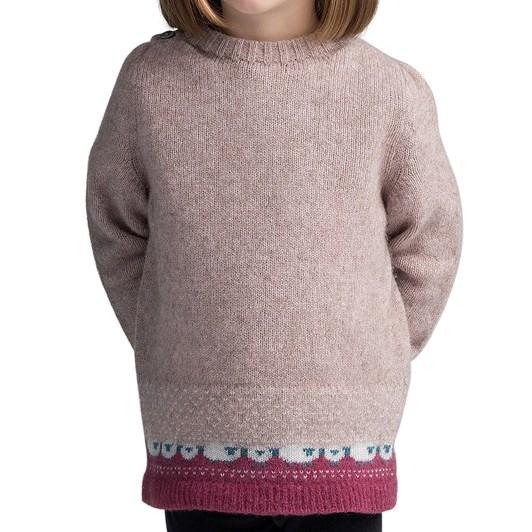 Merino Mink Kids Sheep Sweater
