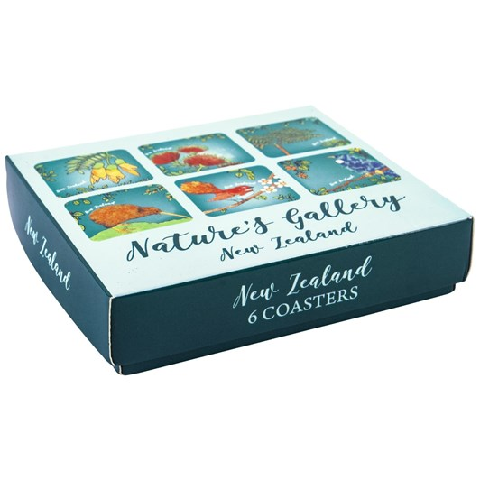 Nature's Gallery Coasters Set