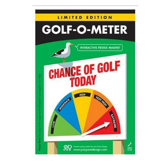 Just Great Design Golf O-Meter