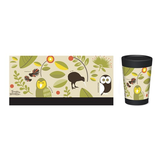 CuppaCoffeeCup Manu Maori By Toodles Noodles