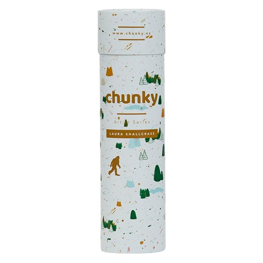 Chunky Snow Yeti Laura Shallcrass Artist Series Bottle