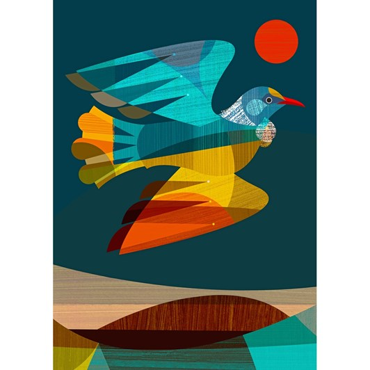 Tui In Flight Box Frame Black 40x28.5cm