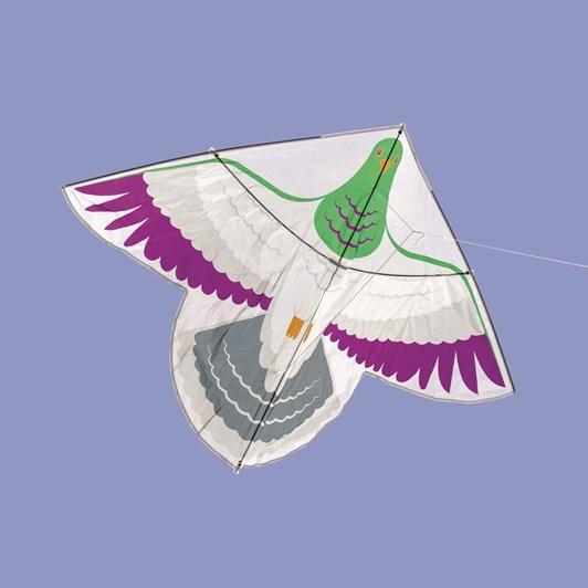Native Bird Kereru Kite