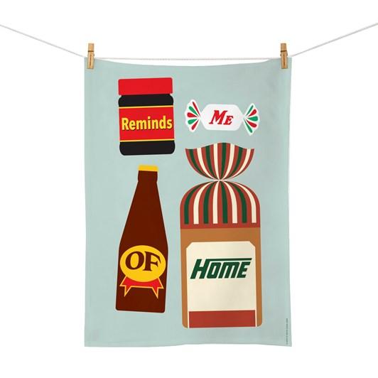 Taste Of Kiwi Tea Towel - Glenn Jones
