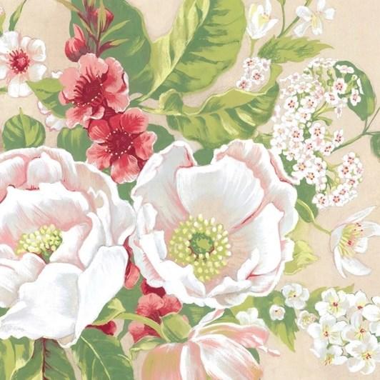 Tanya Wolfkamp Vintage Flowers Lens Cloth