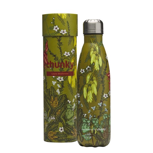 Chunky Flora Aotearoa Laura Shallcrass NZ Art Series Bottle