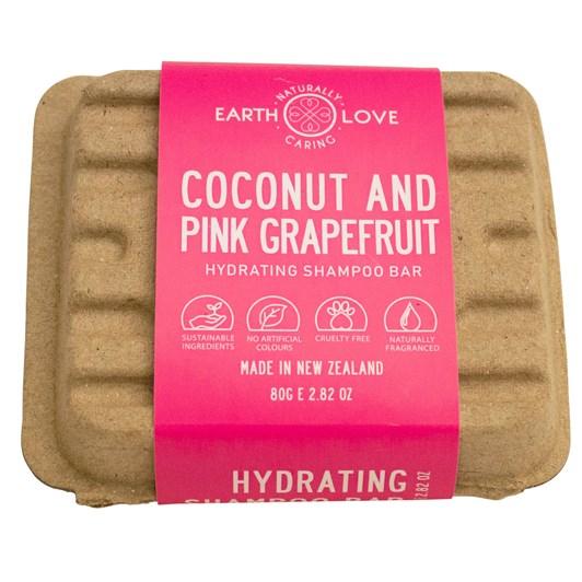 Earth Love Coconut & Grapefruit Hydrating Shampoo Bar 80g