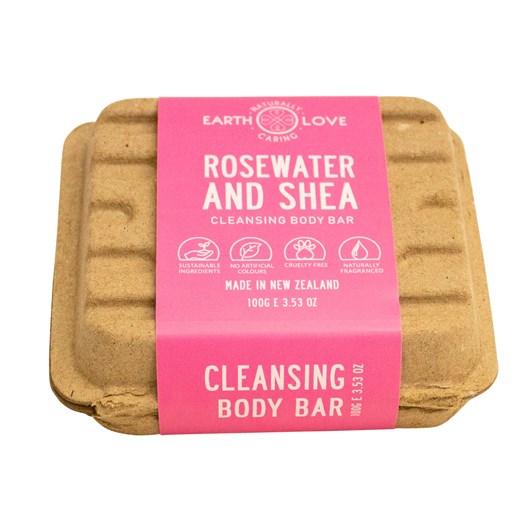 Earth Love Shea Butter & Rose Body Wash Bar 100g
