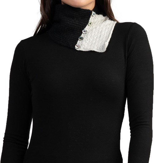 Merinomink Lace Neck Warmer