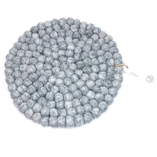 SHEEP-ish Design Felt Ball Pot Stand 30cm