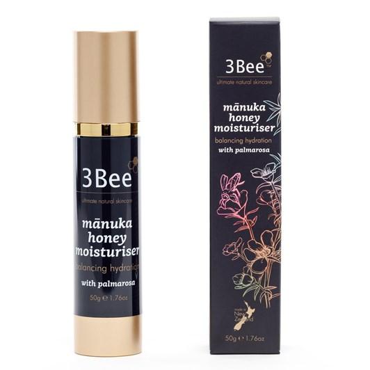 3Bee Manuka Honey & Palmarosa Balancing Moisturiser 50g