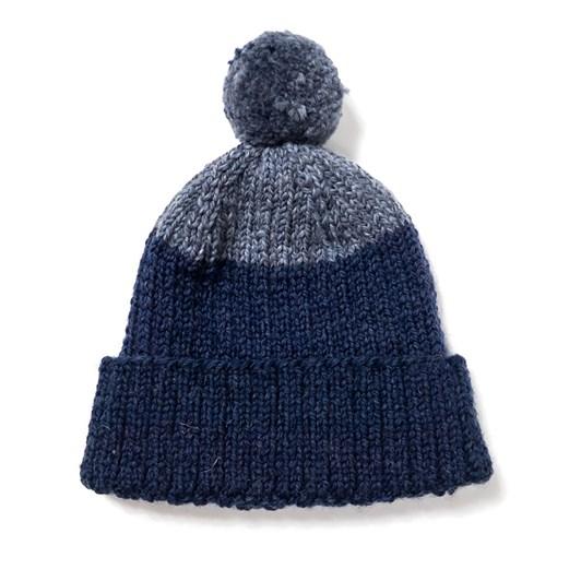 Edmund Hillary Block Bobble Hat