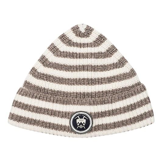 Edmund Hillary Beanie Hat Striped