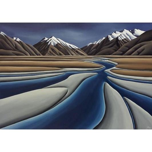 Diana Adams River's Journey Canvas 100x72cm