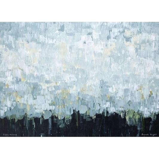I Love Harmony Stretched Canvas On Bar 80x58.5cm