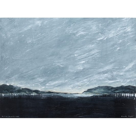 No.9 Our Beautiful Land Stretched Canvas On Bar 100x73cm
