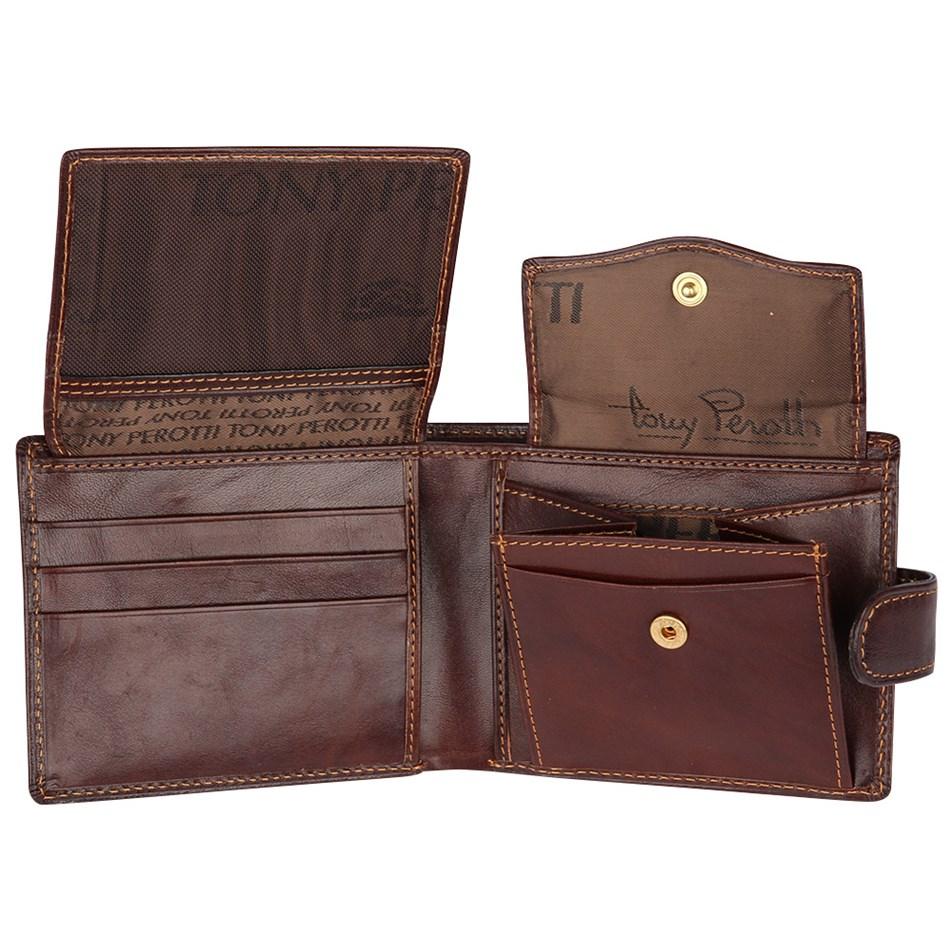 Tony Perotti Cervo Leather Wallet -
