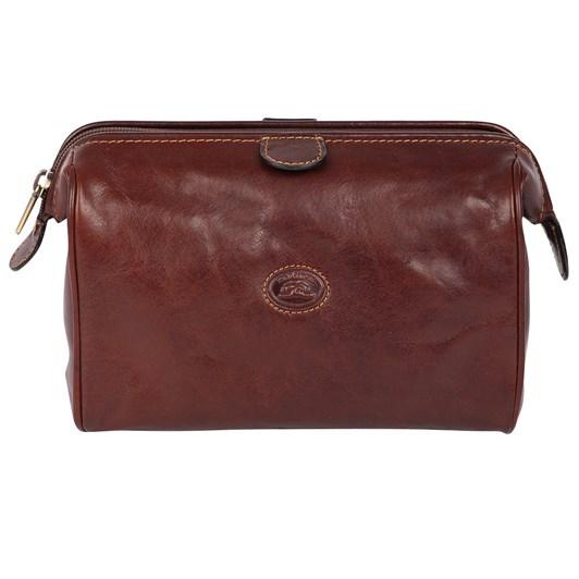 Tony Perotti Leather Toilet Bag