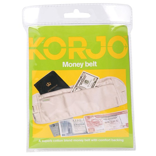 Korjo Polycotton Money Belt