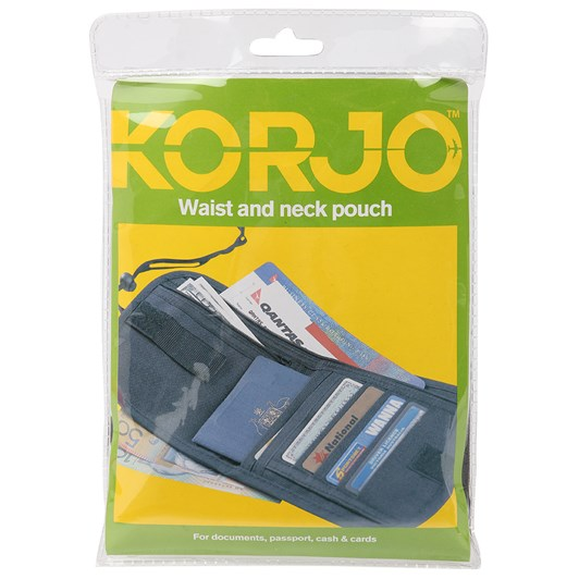 Korjo Waist and Neck Pouch