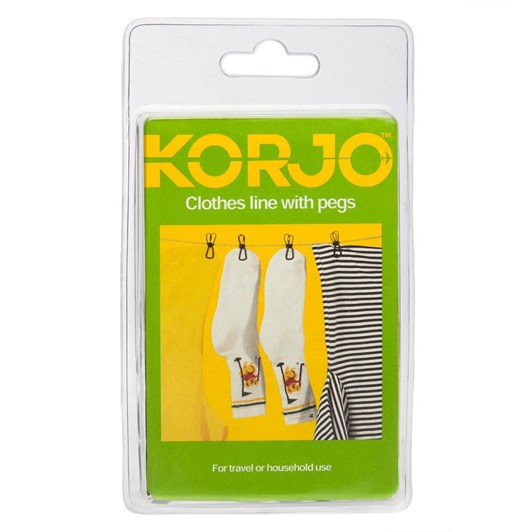 Korjo Clothesline with Pegs