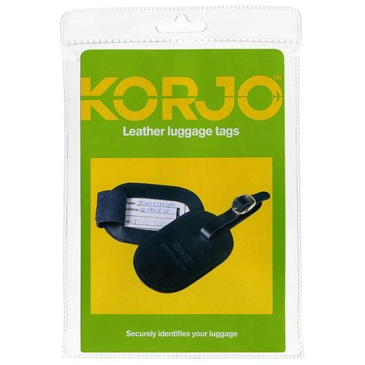 Korjo Leather Luggage Tags