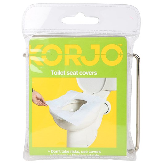Korjo Toilet Seat Covers - 10 Pack