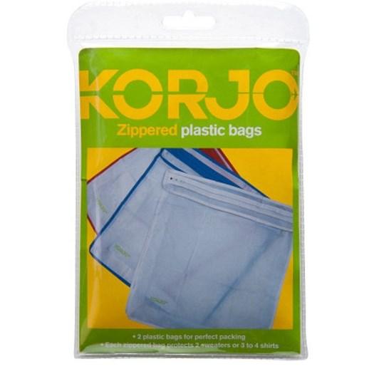 Korjo Zipp Plastic Bags