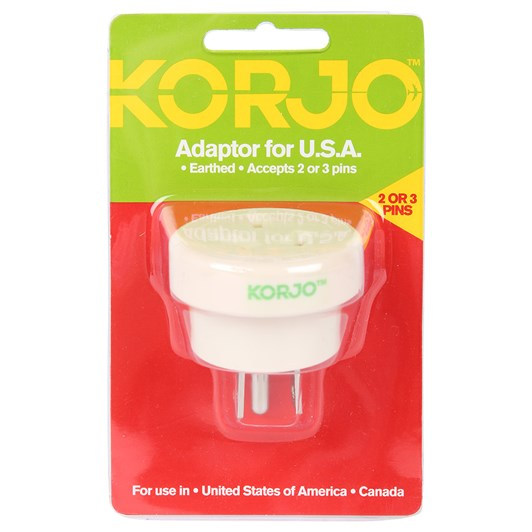 Korjo USA Adaptor