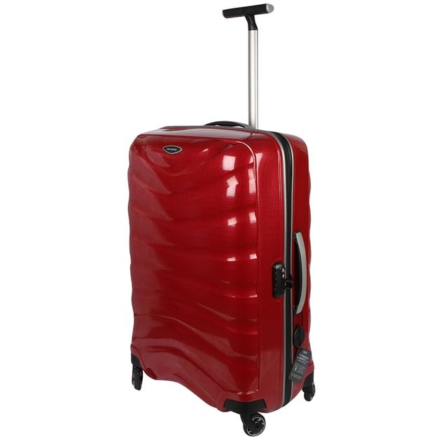 Samsonite Firelite 55Cm Spinner - chilli red
