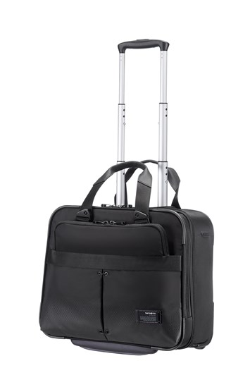 Samsonite City Vibe Rolling Tote - Jet Black