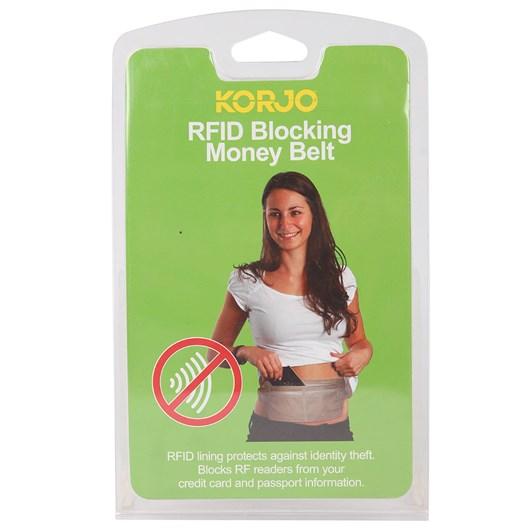 Korjo RFID  Money Belt