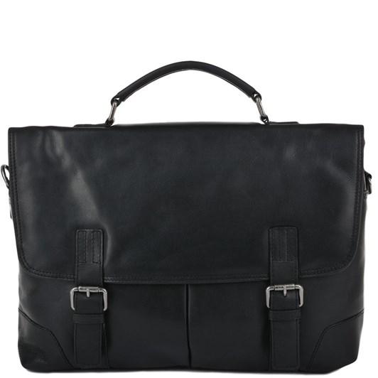 Ashwood Double Gusset Laptop Compatible Briefcase