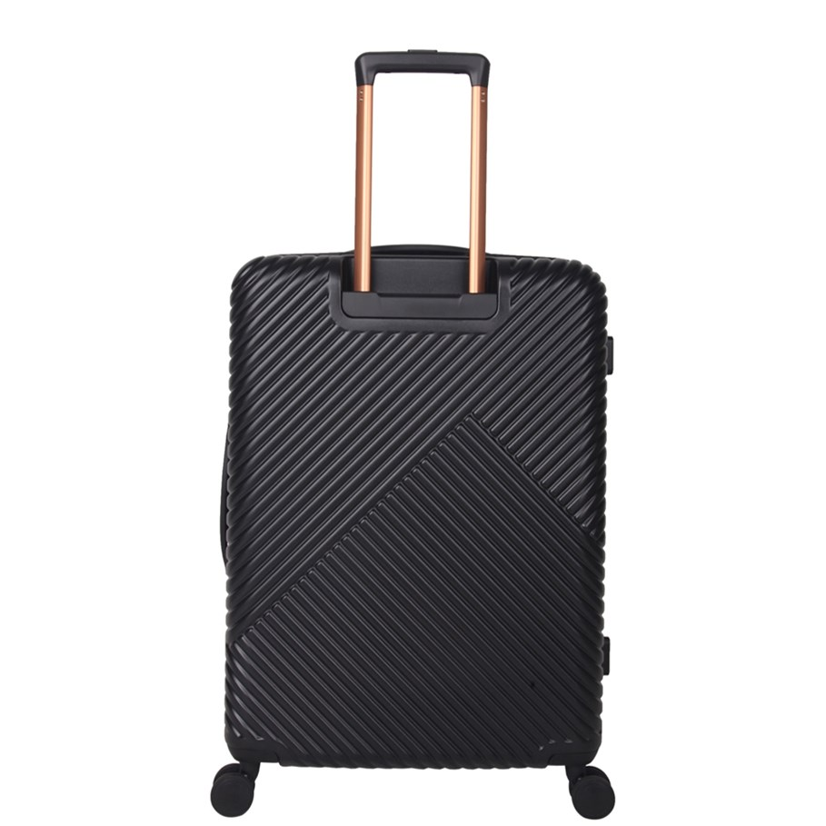 Saben 76cm Spinner Suitcase - black