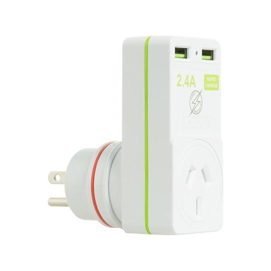 Korjo USB & Power Adaptor USA/NZ
