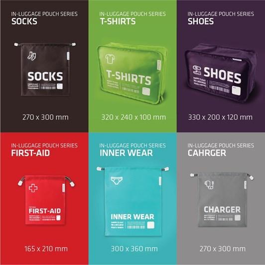Alife Design In-Luggage Index 6 Set-A