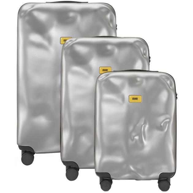 Crash Baggage Suitcase - 21 silver