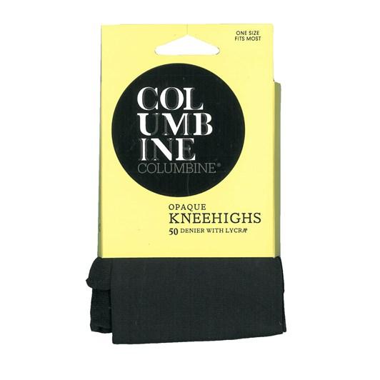 Columbine 50 Denier Opaque Knee Highs