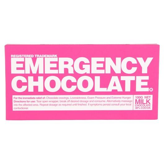 Bloomsberry Emergency Milk Chocolate Bar 100g