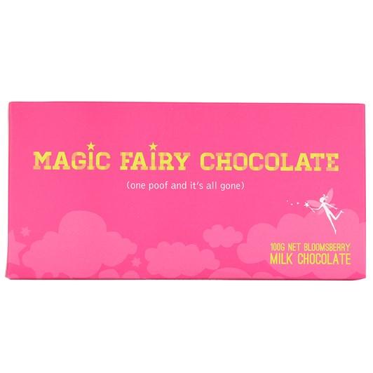 Bloomsberry Magic Fairy Milk Chocolate Bar 100g