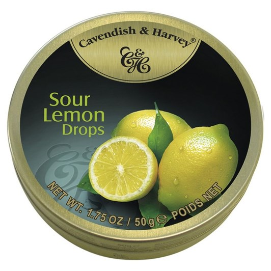 Cavendish and Harvey Sour Lemon Drops 200g