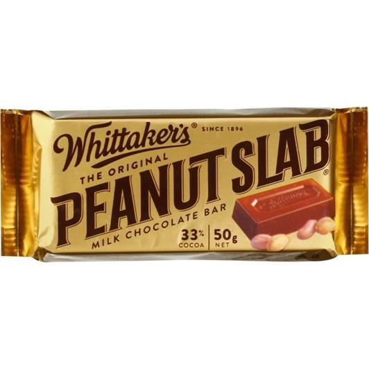 Whittakers Peanut Slab 50g